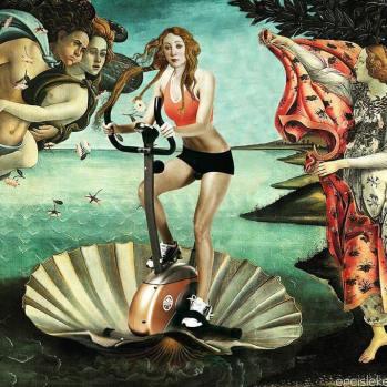 art cover venus exercising