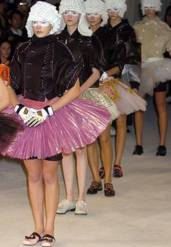 Spring 2005: Motorcycle Ballerinas