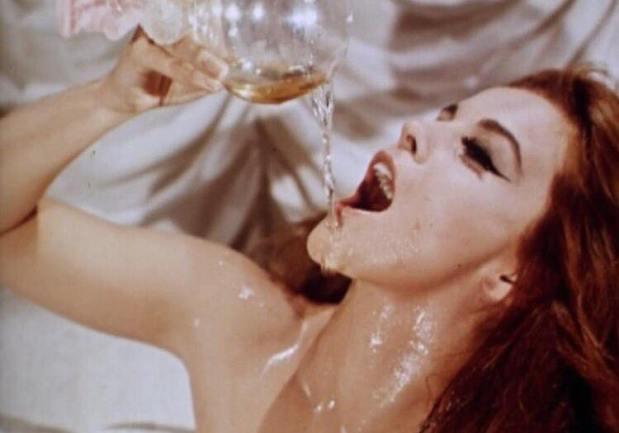 champagne girl