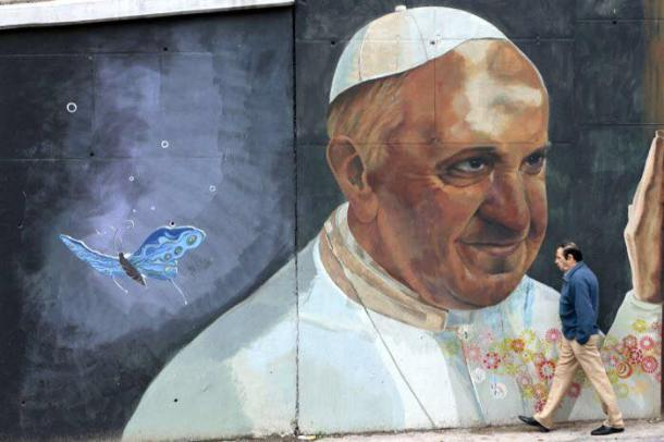 pope painting